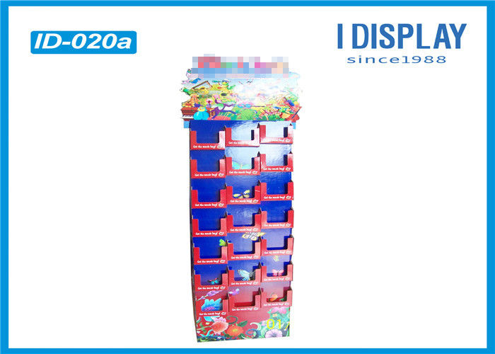 Chocolate Cardboard Advertising Displays / Promotional Display Stands