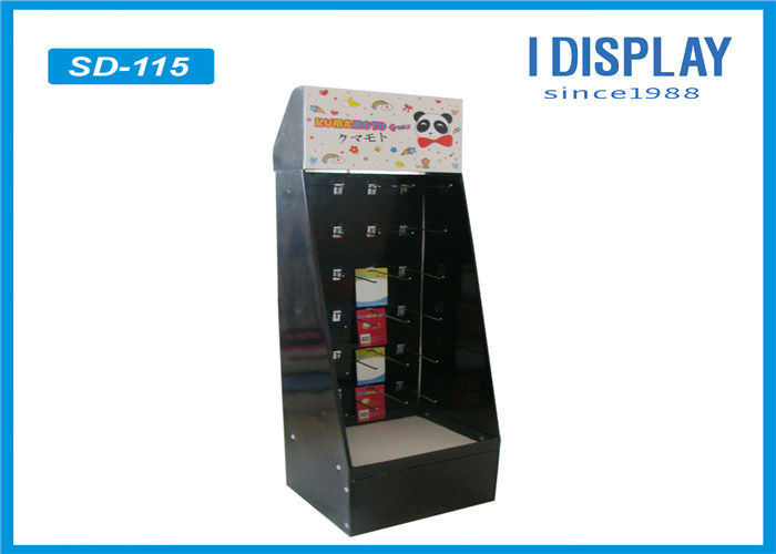 Advertising Custom Cardboard Display Stands / Hook Stands For Display